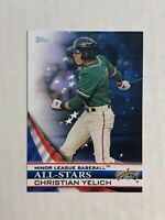 CHRISTIAN YELICH 2012 Topps Minor League All-Stars RC INSERT! CHECK MY ITEMS!
