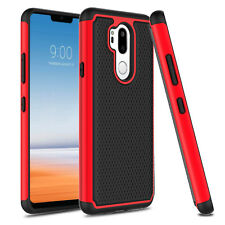 For LG G7/ G7+ ThinQ Phone Case Shockproof Hybrid Rugged Hard Armor Bumper Cover