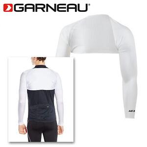 Louis Garneau Speed Bolero UPF50+ Sun Protective Arm Sleeves - White