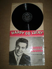HAPPY GO LUCKY 1957 VINYL LP,ORIGINAL,FRANKIE VAUGHAN,B10728L