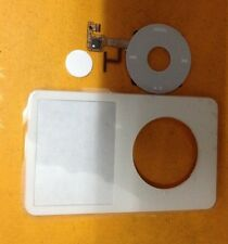 front cover+ Clickwheel Central Button for iPod Video 5.5th Gen 60GB 80GB(White)