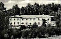 Grebin 1957 Schleswig-Holstein Partie Erholungsheim Im stillen Tal Gebäude Wald
