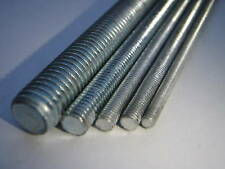 ZINC PLATED STEEL M3 3MM THREADED BAR STUDDING 200mm