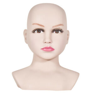 Child Mannequin Head, Head Circumference 47cm/18.5Inch, Height 26cm/10.24Inch