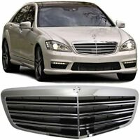COMPLETE REPLACEMENT GRILL FOR MERCEDES S CLASS W221 07/2009 ON FACELIFT MODEL