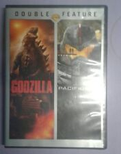 Godzilla & Pacific Rim DVD Double Feature (2 Disc Set, Pre-owned)