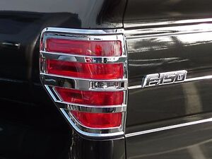 2009-2014 Ford F-150 Chrome Taillight Cover