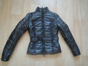 Refrigiwear Steppjacke Gr M schwarz Anorak Glanzjacke Winterjacke