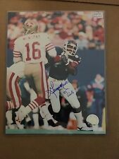 NY Giants  George Martin autographed  8x10 photo- after Montanna