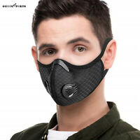 Outdoor Sport Face Shield with Activated Carbon Filter Mesh Gauze Mouth Muffle