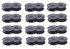 12 x Nastro colorato Gruppo 1 regolabile nero Triumph-Adler Junior 1 2 3 10 12