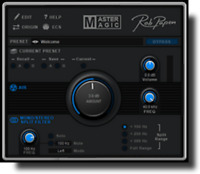 New Rob Papen MasterMagic Plug-in Virtual Mixer Enhancer, Mac/PC VST AU AAX