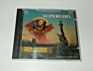 Supergirl Soundtrack CD Jerry Goldsmith  1984 National Philharmonic