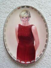 Bradford Exchange ~ Forever Our Princess ~ Diana Oval Plate ~ Box & Coa ~# 8847A