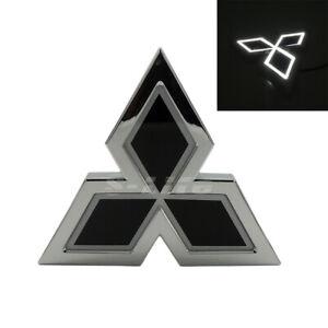 LED Car Tail Logo Badge Emblem Lights Mitsubishi Galant Lancer Lioncel ASX White