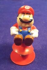 "1989 Nintendo Super MARIO Pop Up Bouncing Bobble Toy 3"" Figurine"