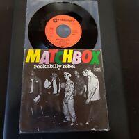 """Matchbox-Rockabilly Rebel-Vinyl,7"""",45 RPM,Single-Sammlung-Rockabilly D-1979"""