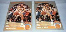 Lot of 2 1990-1991 NBA Hoops Mark Jackson Menendez Brothers card *FREE SHIPPING*