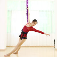 40-120kg Aerial Anti-gravity Yoga Resistance Band Set Bungee Dance Flying Rope