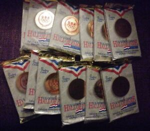 12 sealed packs of 15 USA OLYMPIC HALL OF FAME SERIES Trading Cards - Team USA