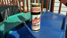 vintage advertising snowmobile graph speed motor oil can sign gas pump