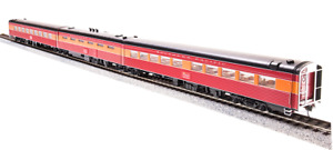 Broadway Limited 1576 SP Coast Daylight Articulated Dining Car (Unskirted) HO