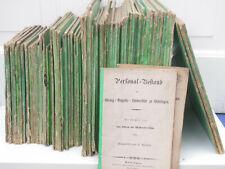 Personal-Bestand der Georg-Augusts-Universität Göttingen 1840-1882 in 82 Bänden