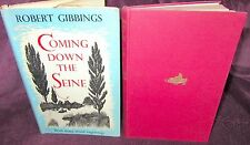 Coming Down the Seine ~ Robert GIBBINGS.  1st HbDj 1953   Charming   in MELB!