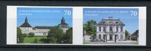 Germany 2018 MNH Castles Schloss Freidenstein Gotha 2v S/A Architecture Stamps