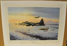 THE MIGHTY EIGHTH - COMING HOME by Robert Taylor  with 28 signatures RARE