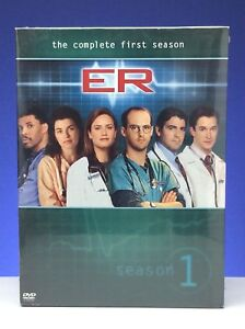 ER - The Complete First Season (DVD, 2003, 4-Disc Set, Four Disc Set) B768