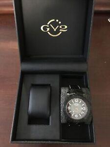 GeVril Gv2 La Luna Black Dial Automatic Men's Watch 8003 Limited Edition