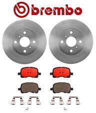 For Chevrolet Prizm 98-02 1.8L Brembo Front Brake Kit With Rotors & Ceramic Pads
