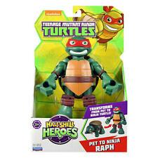 Teenage Mutant Ninja Turtles Half Shell Heroes Transform Pet to Ninja Raph & Leo