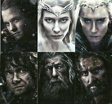 The Hobbit The Battle of the Five Armies Portraits chase Set BP1- BP6