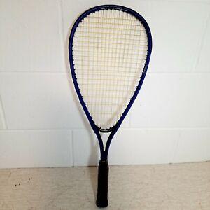 Speedminton Racket Blue Fair Condition String Tension 12 kp