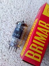 Brimar 12AX7 ECC83 1962 type 1574 O getter tested NOS