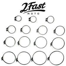 2FastMoto Carb Intake Air Box Filter Band Clamp Motorcycle Hon Kaw Suz Yam H-D