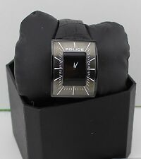 NEW AUTHENTIC POLICE BLACK LEATHER MEN'S PL.14004JSB/02 WATCH