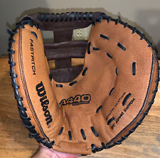 """Wilson A440 31"""" Women's/Girls Fastpitch Softball Catchers Mitt Right Throw NWOT"""