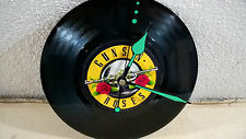"""GUNS `N´ROSES Welcome To The Jungle 7"""" VINYL Single Wall Hanging Clock (Gift )"""
