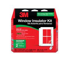 3M  Clear  Outdoor  Window Film Insulator Kit  62 in. W x 84 in. L