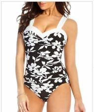 d95876e579e Miraclesuit Nylon Floral One-Piece Swimwear for Women