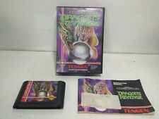 Dragon's Revenge game for Sega Mega Drive - Complete in Box CIB pinball rare