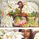 """40W""""x28H"""" CALLA LILLY VENDOR VENDEDORA DE ALCATRACES by RIVERA CHOICES of CANVAS"""