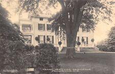 Princeton New Jersey~Henry Van Dyke Mansion~University English Professor~1910