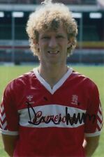 Middlesbrough mano firmato David Mills 6x4 Foto 1.