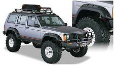 Bushwacker Front & Rear Cut-Out Style Fender Flare 84-01 Jeep Cherokee, 10911-07