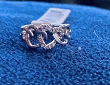 With Tags, Size 7 cubic zirconia R.S. Covenant Ring Style #593 New