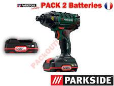 PARKSIDE® Boulonneuse/Visseuse à choc sans fil PDSSA 20-Li A1, 20V 2 Batteries